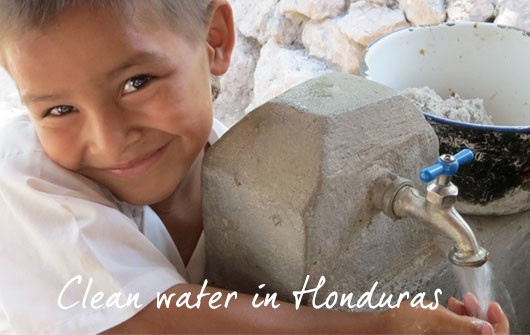 Clean water in Honduras