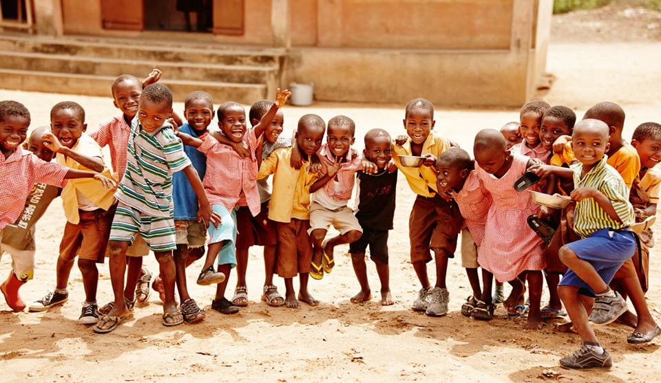 ATGCF partner Pencils of Promise builds schools for kids around the world, including those in Ghana, West Africa.