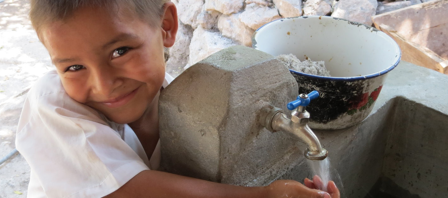 ATGCF partnered with Water1st International to construct a clean-water sanitation system to bring safe, clean water to the remote village of San Sebastian, Honduras