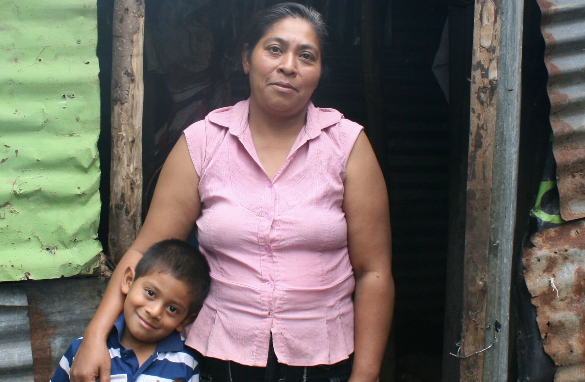 ATGCF partners with New Story to build a safe home for a family in El Salvador